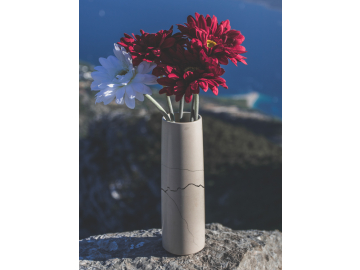 Mramorová váza kulatá